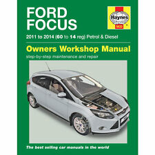 Ford Focus 1.0 1.6 Petrol 1.6 Diesel 2011-14 (60 to 14 reg) Haynes Manual