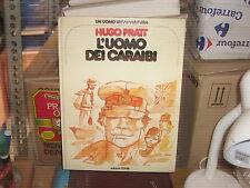 CARTONATI UN UOMO UN AVVENTURA-NR.-4--HUGO PRATT--EDIZIONE CEPIM-FEBBRAIO--1977-