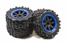 Mad Max Giant Grip Monster Tyres Truck Set For KM X2 & Losi 5ive, DBXL 1/5th RC