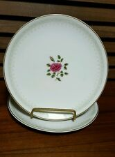 Royal Doulton Sweetheart Rose Pair of Salad Plates Pattern No.  H4936