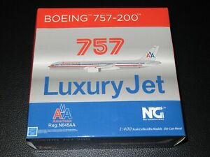 NG Model 1:400 American Airlines 757-200 N645AA New in Box