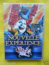 cirque du soleil nouvelle experience jacques payette franco dragone dvdsigillato
