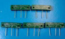 "IRC RJ11CP501 1W 500 Ohm 1 1/4"" Rectangular Trimming POT, 5pcs"
