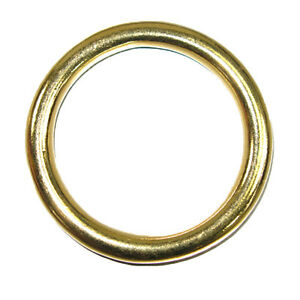"""Cast O Ring Solid Brass 1.5"""" 10 Pack"""