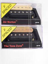 DiMarzio F-spaced Air Norton Neck & Tone Zone Bridge Humbucker Set Black/Creme