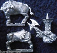 1992 caos enano Bull Centauro hacha 6 cuerpo 2 hace Citadel enanos Dawi zharr GW