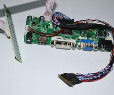 "HDMI+DVI+VGA+AUDIO LCD Controller Board kit For LG 15.6"" LP156WF1-TLC1 TL C1"
