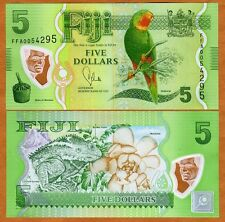Fiji, 5 dollars, 2012 (2013), P-New, Polymer, Unc