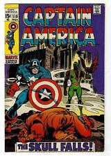 Captain America #119 (Nov 1969, Marvel) Higher Grade Copy