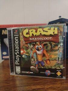 Crash Bandicoot (Black Label, CIB, TESTED)