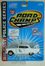 Louisiana State Chevy Bel Air Road Champs Vintage Police Series Diecast 1/43