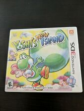 Yoshi's New Island Nintendo 3DS XL 2DS Game w/Case & Insert - free shipping