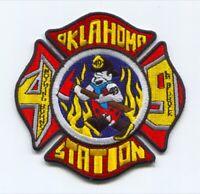 Oklahoma Fire Department Station 49 Apollo Patch Pennsylvania PA The Flinstones
