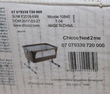 Chicco 07079339720000 - Beistellbett Next2Me, Farbe: dove grey