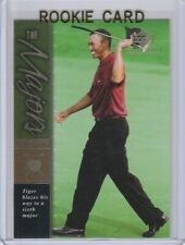 TIGER WOODS Champion ROOKIE CARD Upper Deck GOLF RC Premier Edition LE