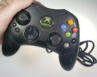 Genuine OEM Microsoft Original Xbox Wired Controller S Black bonus blue control