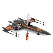 Disney Store Poe Dameron and X-Wing Fighter Set - Star Wars: The Last Jedi NEW
