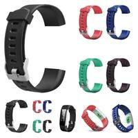Colorful Replacement Watchband Wrist Band Strap for ID115 Plus HR Smart Watch
