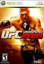 UFC Undisputed 2010 (Microsoft Xbox 360, 2010) -Complete