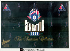 Rare--1995 Select AFL Sensation Trading Cards Factory Box Set (64 cards) MVP +