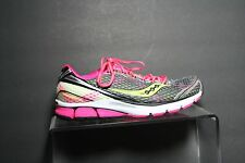 Saucony Triumph 10 Running Sneaker Multi Hot Pink Grey Athletic Women 10 EUC Hip