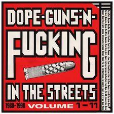 Dope, Guns & Fucking in the streets: 1988-1998 3 VINYL LP NEUF