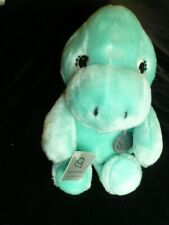 Princess Soft Toys Stuffed Plush Teal Aqua Dinosaur Dragon Turtle Lizard