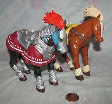 Legend of Zelda Link's and Ganandorf's Horse Fiigures, Epona Toy Biz 2000