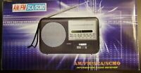 RARE Vintage AM/FM/SCA/SCMO Information Portable Travel Radio Receiver Brand New
