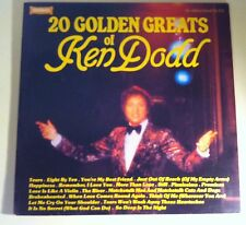 "20 Golden Greats of KEN DODD Vinyl LP 12"" Record Pianissimo Tears Promised River"