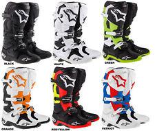 Alpinestars Tech 10 Stiefel boots mx  limited edition Anaheim A1 Daytona D71