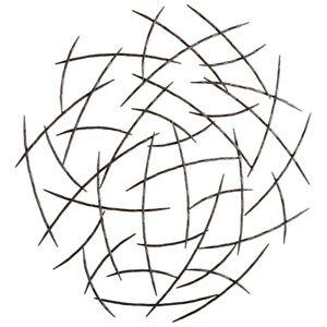 Cyan Design Elias Wall Art, Graphite - 05136