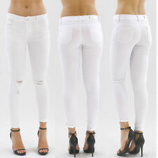 Cotton Faded Petite Slim, Skinny Jeans for Women