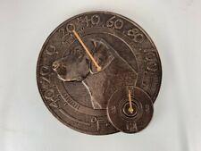 Orvis Decorative Thermometer Clock - Lab