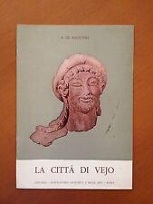 La città di Vejo - A. De Agostino  3482