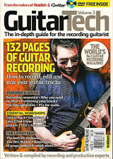 GUITAR TECH UK Volume 3 Guide for Recording Guitarist How to Record Edit + DVD