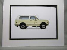 1969 Chevrolet Blazer K 5  Artist Illustrated  American Express Auto Exhibit