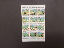 carte postale Benjamin RABIER. Tintin et les deux canards  Samaritaine 1910