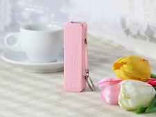 New Mini External Battery Backup USB Battery Charger Power Bank Box W/Key Chain