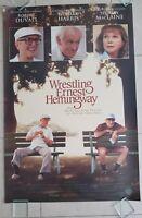 Wrestling Ernest Hemingway movie poster  - Richard Harris, Robert Duvall