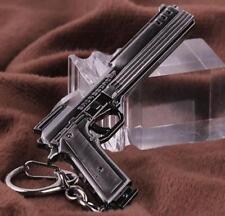 Desert Eagle pistol Weapon Mini Gun Model Metal Keyring Keychain Key Ring *