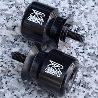 Suzuki GSX GSXR 600 750 1000 GSXR600 GSXR750 GSXR1000 BLACK SWINGARM SLIDERS