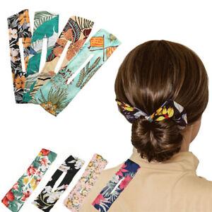 Women Lazy Hair Curler Magic Convenient Clip Wire Bow Hairpin Hair Accessories