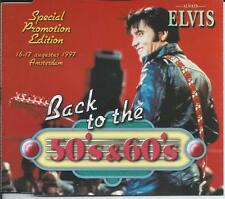 ELVIS PRESLEY - Special Promo Edition CD SINGLE (Radio Program) 1997 HOLLAND