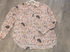 Paul & Joe Silk Cat Shirt Size 2 (10)