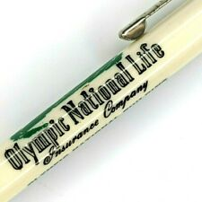 c1950s Scripto Olympic National Life Insurance Rep Mechanical Pencil Building G4