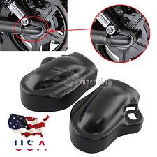 US Bar & Shield Rear Axle Cover For Harley VRSC V-Rod 2002-up Muscle VRSCF Black