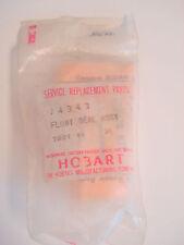 Hobart older dishwasher Sloan vacuum breaker valve repair float kit
