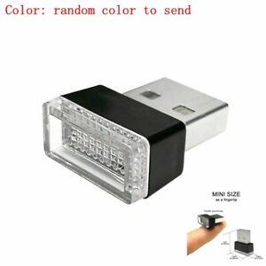 1PCS USB Plug-In Small LED Lights Car Extra Dash Floor Atmosphere Lighting Kit