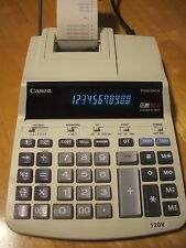 Canon P200-DH III 2 Color 12 Digit Calculator Taxes Bookeeping Cost Accounting
